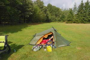 Tent Bycycle